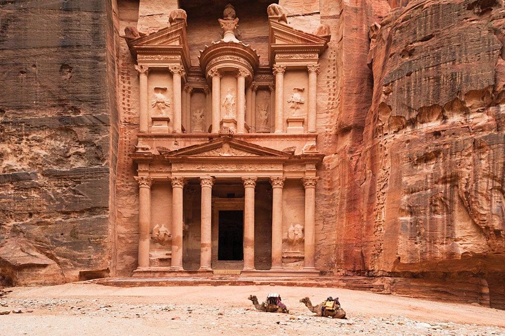 Jordan-Petra-Camels-1