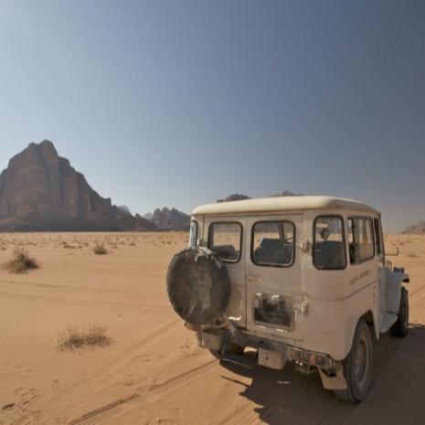 Wadi Rum, Petra