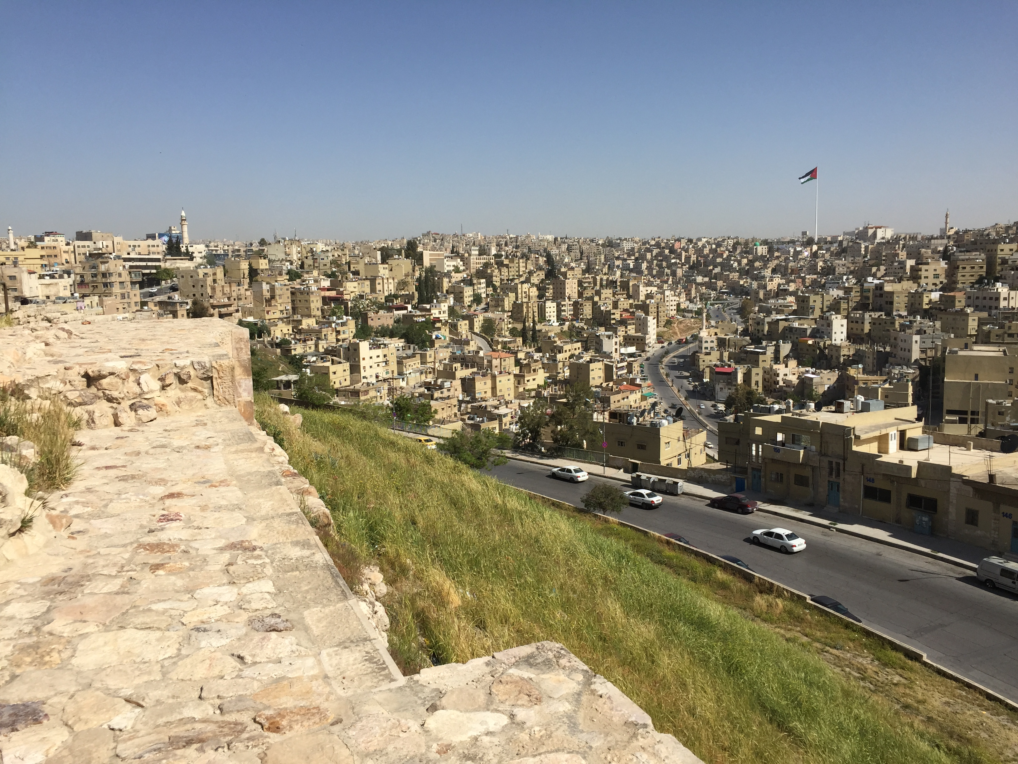 Overlooking downtown Amman (1)