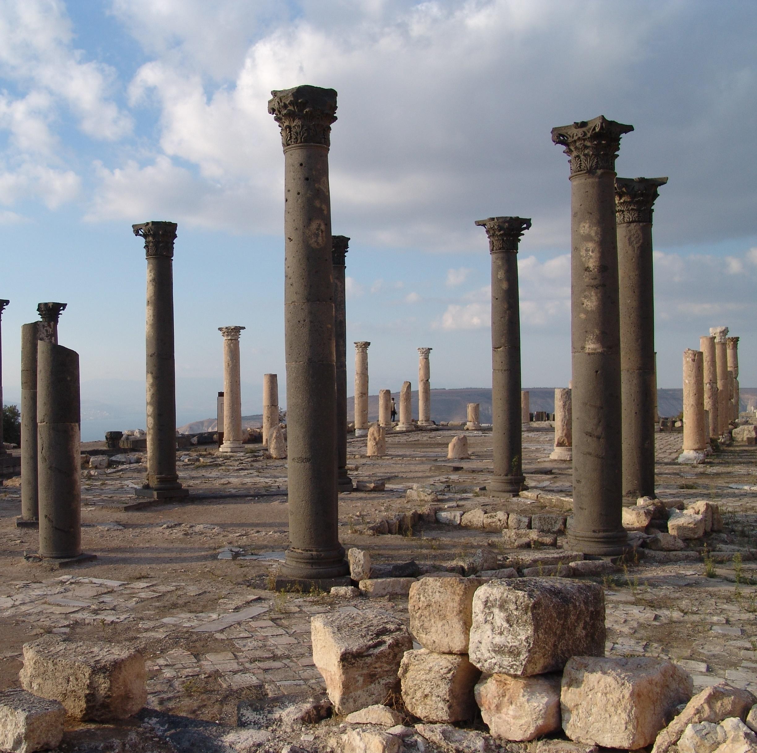 Umm Qais, Pella, Tel Mar Elias